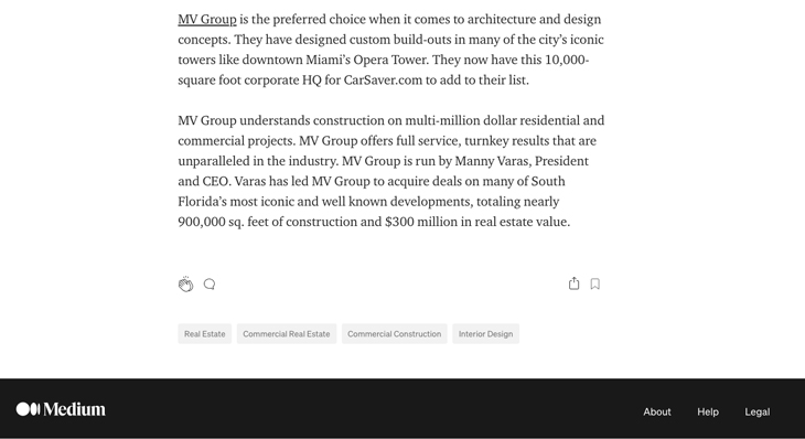 Home Residential – Commercial Construction Company in Miami Gets It Right With a New $7 Million Office